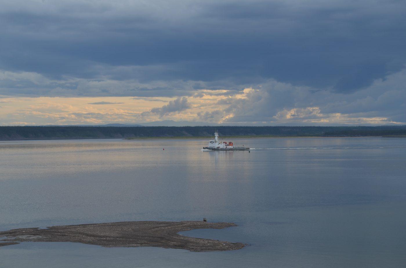 MacKenzie River Barge